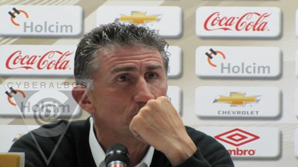 "Bauza: ""jugamos un mal partido"" (Video)"