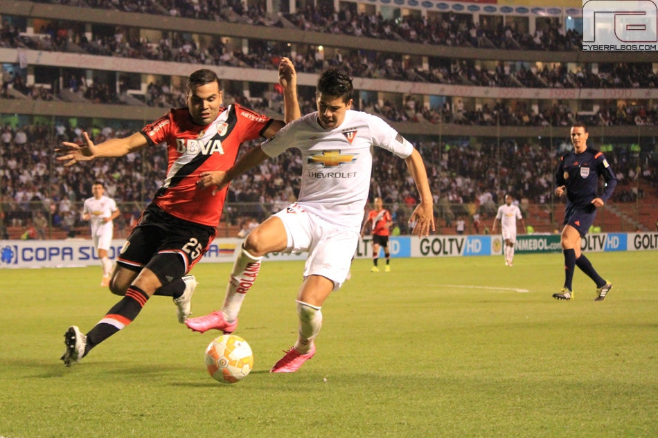 LIGA vs River, fotos