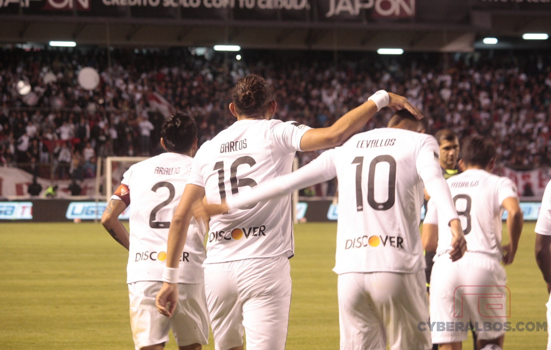 [FOTOS]: Los festejos de LIGA vs. River